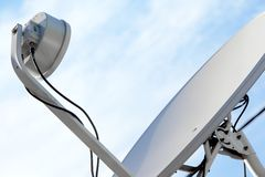 Digital Television Antenna Stock Photos