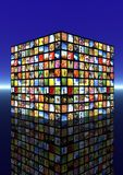 Digital television concept Stock Image