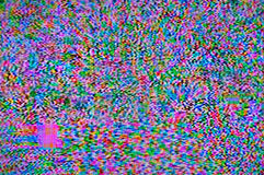 Digital television noise. Television screen with static noise caused by bad signal reception royalty free stock photos