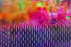 Digital television noise Royalty Free Stock Photo