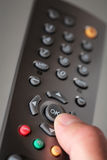 Digital television remote Royalty Free Stock Images