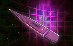 digital termometer Royaltyfri Foto