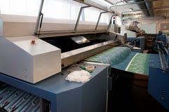 Digital textile printing royalty free stock images