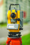 Digital theodolite Royalty Free Stock Photo