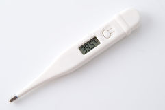 Digital thermometer Stock Photos