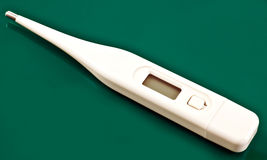 Digital thermometer Royalty Free Stock Image