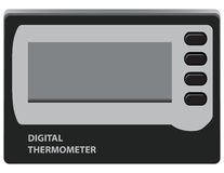 Digital thermometer Stock Photo
