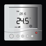 Digital thermostat Royalty Free Stock Photos