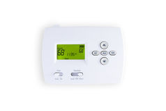 Digital thermostat Royalty Free Stock Image
