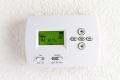 Digital thermostat Stock Photos