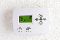 Digital thermostat Stock Photos