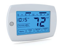 Digital thermostat Royalty Free Stock Photo
