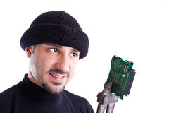 Digital Thief Royalty Free Stock Photo