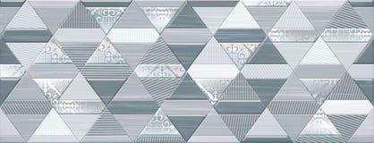 Digital tile design. Idea for ceramic tile and wallpaper Stock Photography