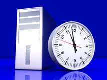 Digital Time Stock Photo