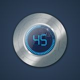Digital timer Royalty Free Stock Image