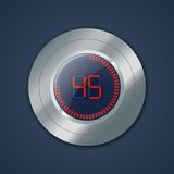 Digital timer Royalty Free Stock Photography