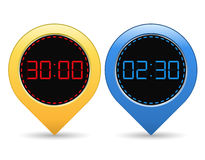 Digital Timers Royalty Free Stock Image