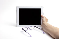 Digital Touchscreen Tablet Stock Photo