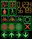 Digital traffic light