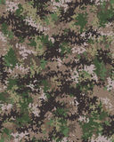 Digital trendig kamouflage Arkivbild