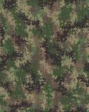 Digital trendig kamouflage Royaltyfri Fotografi