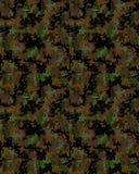 Digital trendig kamouflagemodell Arkivfoton