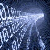 Digital tunnel Stock Photography