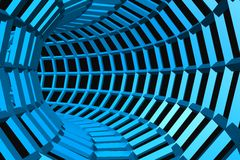 digital tunnel 3d Arkivbild