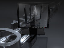 Digital TV Royalty Free Stock Photo