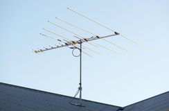Digital TV Aerial Royalty Free Stock Photos