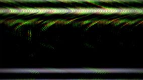 Digital TV broadcast glitch stock video footage