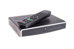 Digital TV isolated Stock Photography