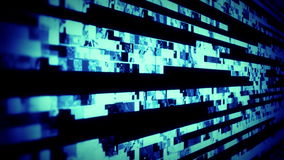 Digital TV Noise 0814. Digital TV Noise and TV Static flicker, roll and pulse (Loop stock footage