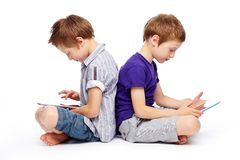 Digital twins Royalty Free Stock Photo