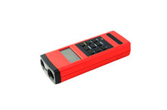 Digital Ultrasonic Distance Measure Device Royalty Free Stock Photo