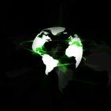 Digital värld Arkivfoto