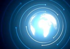 digital värld Fotografering för Bildbyråer