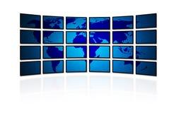 Digital värld 免版税库存图片