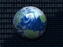 digital värld Arkivbild