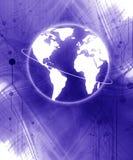 Digital värld Royaltyfri Bild
