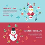 Digital vector christmas and new year holidays set. Digital vector christmas and new year holidays infographics set collection decoration objects color simple Stock Photo