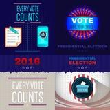 Digital vector usa presidential election royalty free illustration