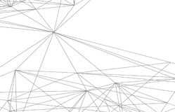 Digital vektorabstraktion Fotografering för Bildbyråer