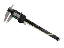 Digital vernier caliper Stock Photo
