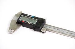 Digital  vernier caliper. Royalty Free Stock Images