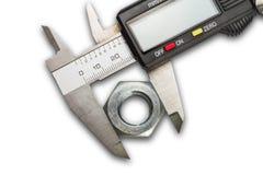 Digital vernier calipers Stock Photo