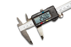 Digital vernier calipers Stock Photo