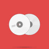 Digital Versatile Disc Royalty Free Stock Photography