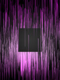 Digital vertical pink lines abstract background. 3d rendering Royalty Free Stock Photo